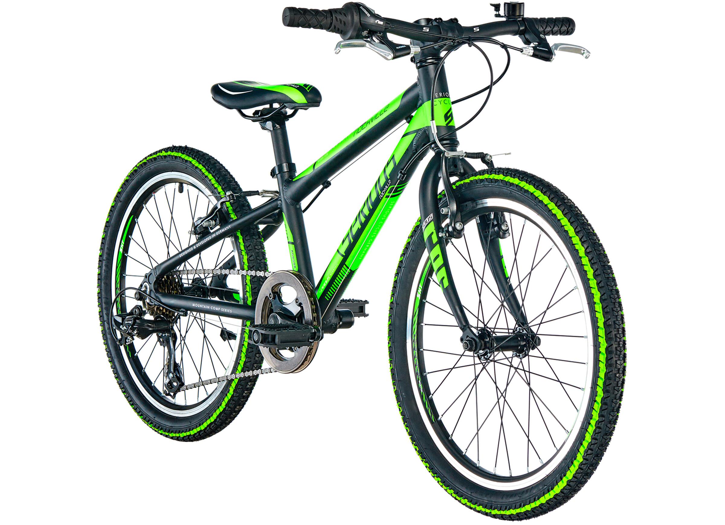 Serious Rockville Børnecykel 20 grøn   Find cykeltilbehør på nettet   Bikester.dk